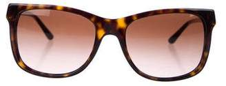Tory Burch Logo Gradient Sunglasses w/ Tags