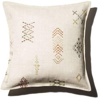 """Coral & Tusk Tumbleweed Embroidered Decorative Pillow, 16"""" x 16"""""""