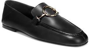 Via Spiga Women's Abby Leather Loafers