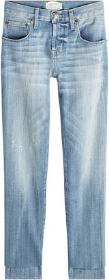 Current/Elliott Staggered Straight Jeans