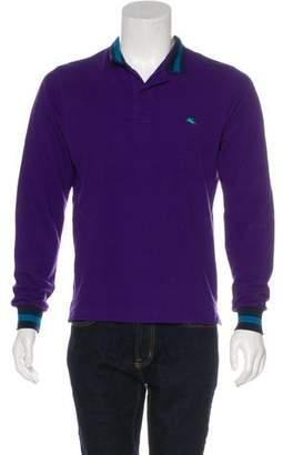 Etro Piqué Polo Shirt