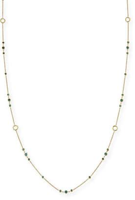 "Dominique Cohen Delicate Blue Diamond Layering Necklace, 42"""