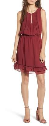 Rebecca Minkoff Lorena Tiered Hem Dress