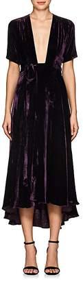 Azeeza Women's Wagner Velvet Wrap Dress