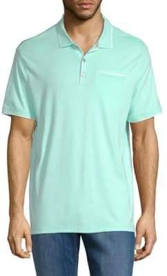 Calvin Klein Interlock Cotton Polo