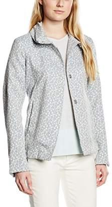 Cinque Women's Long Sleeve Jacket - Blue