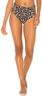 Amuse Society Licia High Waist Reversible Bikini Bottom
