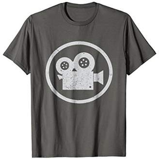 Filmmaker T Shirt Gift for Cameraman or Movie Buff Geek