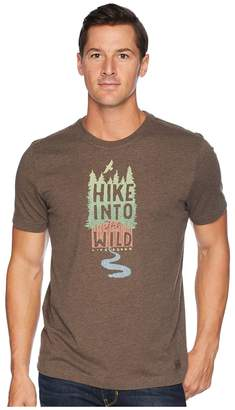 Life is Good Hike Into The Wild Crusher T-Shirt Men's T Shirt