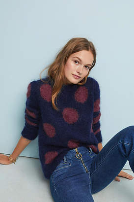 AG Jeans The Ansley Polka Dot Sweater