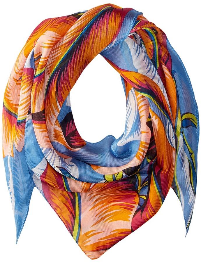 Echo Design - Palm Silk Triangle Scarf Scarves