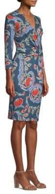 Escada Dalvasa Belted Jersey Dress