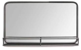 Stratton Home Décor Stratton Home Decor Mason Metal Mirror with Shelf