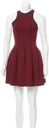 Alexander Wang Sleeveless Pleated Mini Dress