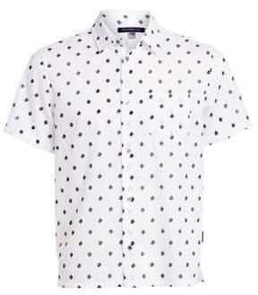 John Varvatos Diamond Short-Sleeve Shirt