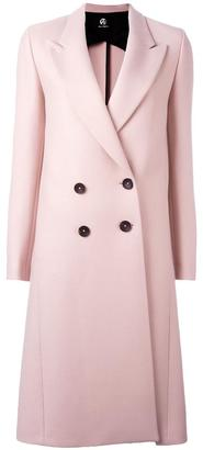 Ps By Paul Smith peaked lapel mid coat $795 thestylecure.com