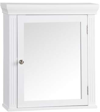 "Elegant Home Fashions Chestnut Medicine 18.5"" W x 20"" H Wall Mounted Cabinet"