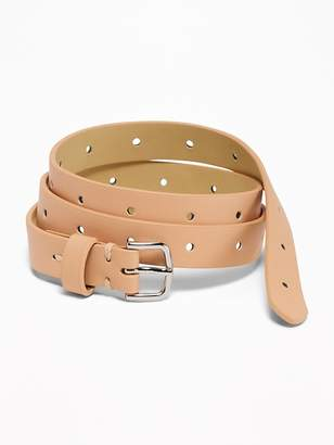 Old Navy Skinny Perforated Belt for Women
