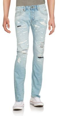 Slim-Fit Greaser Jeans $275 thestylecure.com