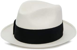 Prada contrasting band detail hat