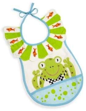 Mackenzie Childs MacKenzie-Childs Bow Tie Frog Bib