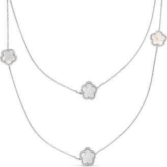 Mother of Pearl Cosanuova Clover Necklace