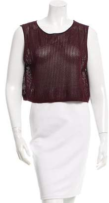 Sophie Theallet Open Knit Silk Top w/ Tags