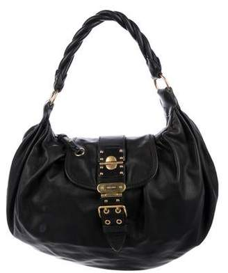 287cee7dbd5c Pre-Owned at TheRealReal · Miu Miu Grained Leather Hobo