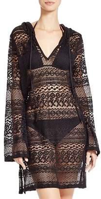 Boho Me Hooded Mini Dress Swim Cover-Up