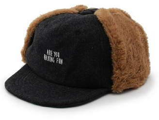 SHOO・LA・RUE (シューラルー) - SHOO・LA・RUE/Kids 2WAYフェイクファー耳あてつきキャップ シューラルー 帽子/ヘア小物
