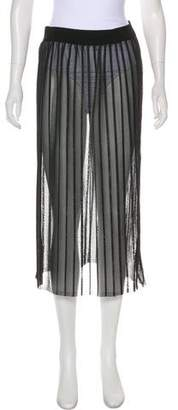 Dondup Pleated Midi Skirt