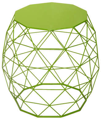 Zipcode Design Alysha Accent Wire Round Stool