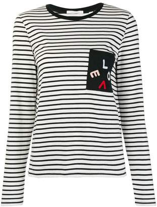 Parker Chinti & Love striped longsleeved T-shirt