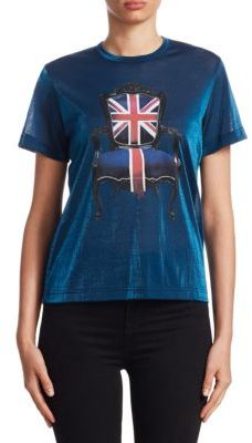 Junya Watanabe Union Jack Chair Tee $365 thestylecure.com