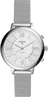 Fossil Q Women's Jacqueline Stainless Steel Hybrid Smartwatch FTW5019