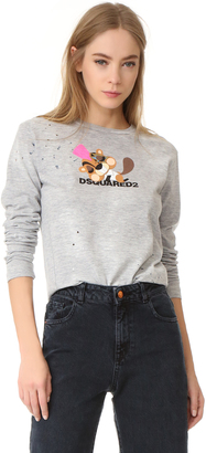 DSQUARED2 Long Sleeve T-Shirt $335 thestylecure.com
