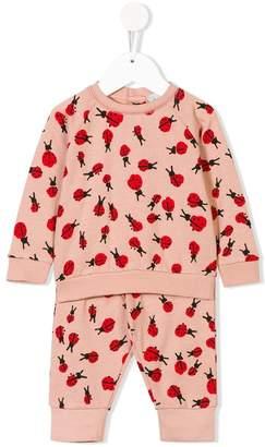 Stella McCartney Betty & Tootie ladybug print tracksuit set
