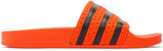 adidas Orange Adilette Slides