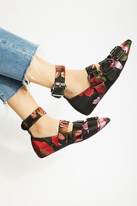 Poppy Fields Flat by Jeffrey Campbell at Free People $178 thestylecure.com
