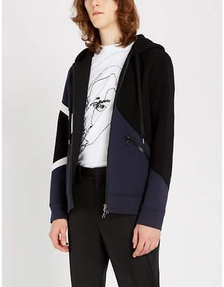 Neil Barrett Modernist printed jersey hoody
