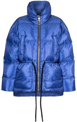 Ienki Ienki Mishko tie-waist puffer coat