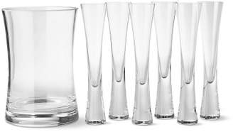 Williams-Sonoma Williams Sonoma Moya Champagne Flutes with Ice Bucket, Set of 6