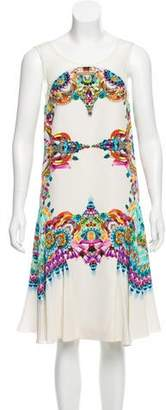 Manish Arora Digital Print Embellished Dress