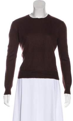 The Row Long Sleeve V-Neck Sweater