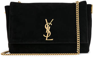 Saint Laurent Reversible Monogramme Kate Bag in Black | FWRD