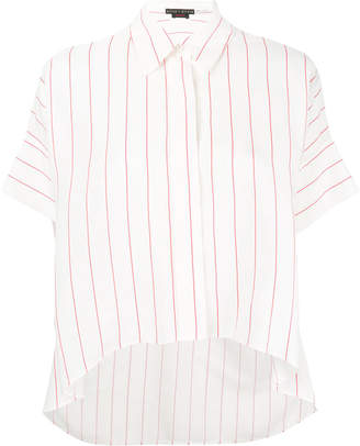 Alice + Olivia Alice+Olivia striped boxy shirt