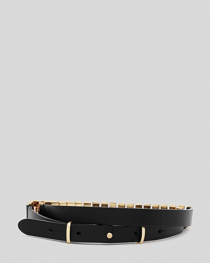 Reiss Belt - Reina Chain and Leather
