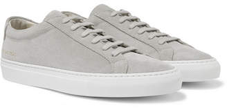 Common Projects Original Achilles Suede Sneakers