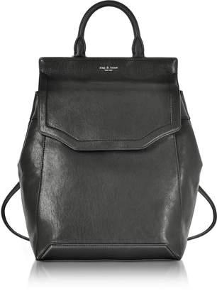 Rag & Bone Black Leather Pilot Backpack II