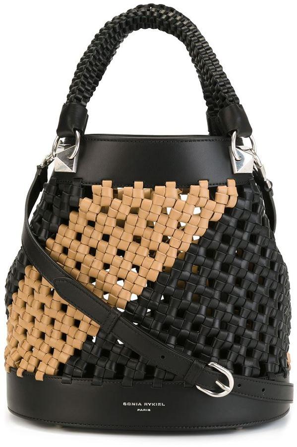 Sonia RykielSonia Rykiel woven bucket bag